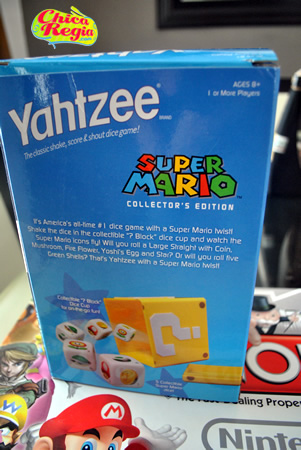 Yahtzee Super Mario Collector's Edition