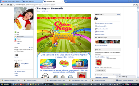Chica Regia Facebook Fan Page