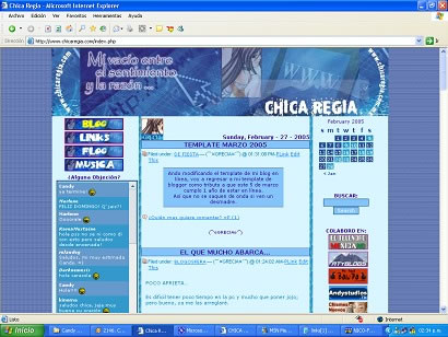 themes blog chicaregia.com historia