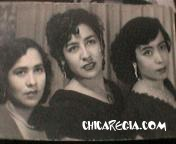 Amiga de mi abuelita, mi abuelita y mi tia Juanita