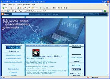 Blogger 2004