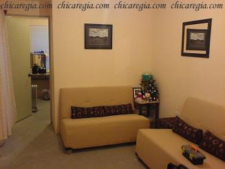 Mi sala con la foto que me regaló Maricela