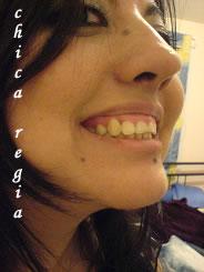 Foto exagerada de Chica Regia
