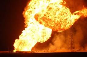 Simulando Explosion  de Pemex