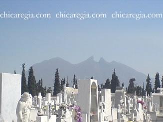 Un panteón de Monterrey