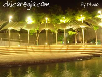 Paseo Santa Lucia de noche