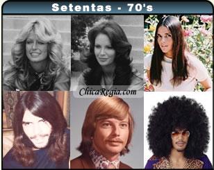 Peinados 70s