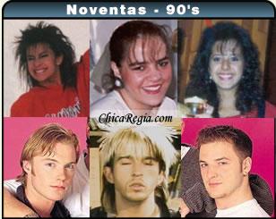 Peinados 90s