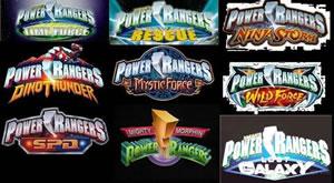 Todos los Power Rangers de todas las temporadas