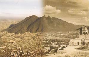 Cerro de la Silla de ayer y hoy