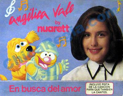 Portada del cassette En busca del amor de Angelica Vale