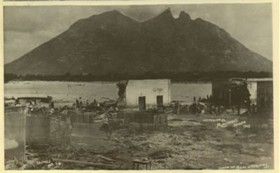 Inundacion 1909 Monterrey MX