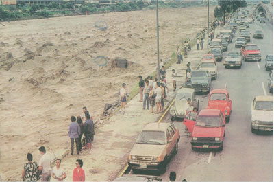Inundacion 1988 Monterrey MX