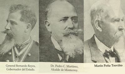 Personajes de Mty que intervinieron en la construcción del mercado Juárez