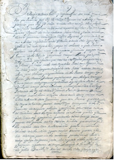 nombramiento de Martín de Zavala