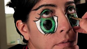 Agrandar ojos como anime