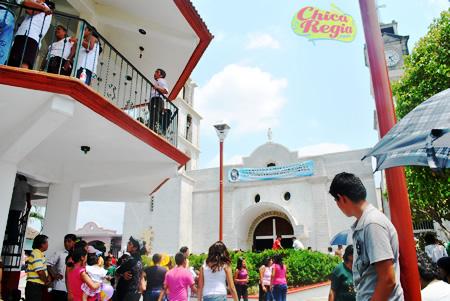 Iglesia Santiago Apostol Coatzintla Veracruz