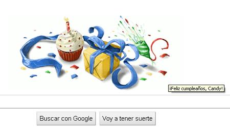 Mi cumple por Google