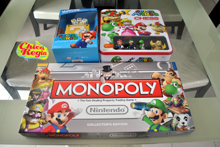 Super Mario Board Games Collector's Edition