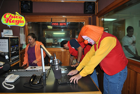 Programa de radio de Pipo y el Profesor Pilocho