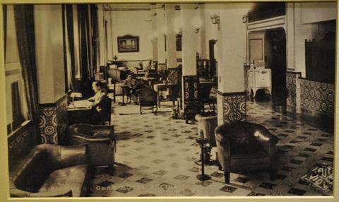 Inauguración Lobby antiguo Gran Hotel Ancira