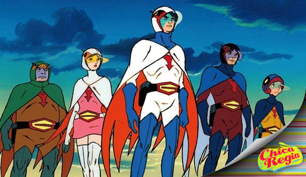 fuerza g force gatchaman battle of planets guardianes del espacio opening español latino