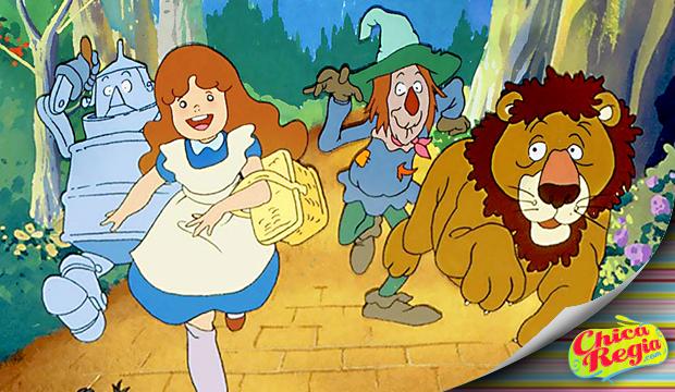mago de oz serie animada intro 1989 Mexico Canal 5 español latino