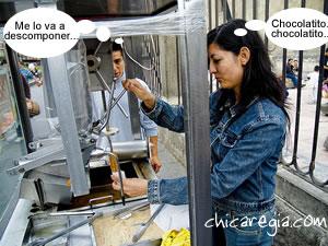 super empleos vendedora de churros