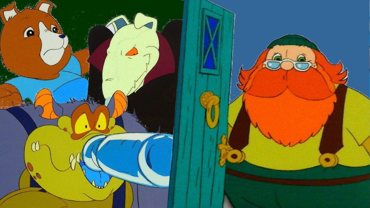 bosque magico sylvanian families caricatura retro anime