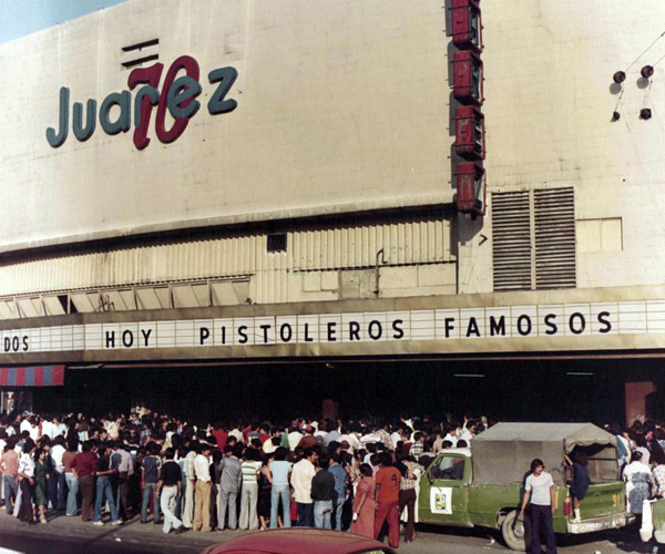 Cine Juarez 70 monterrey
