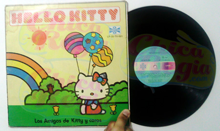 LP Hello Kitty y Coros de 33 revoluciones