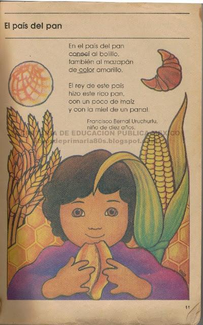 el pais del pan francisco bernal uruchurtu sep libro primaria segundo grado 80s