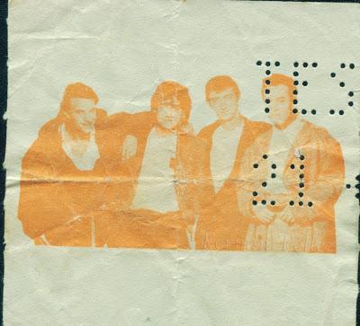 boleto de concierto hombres G en Monterrey 1988 Plaza de toros