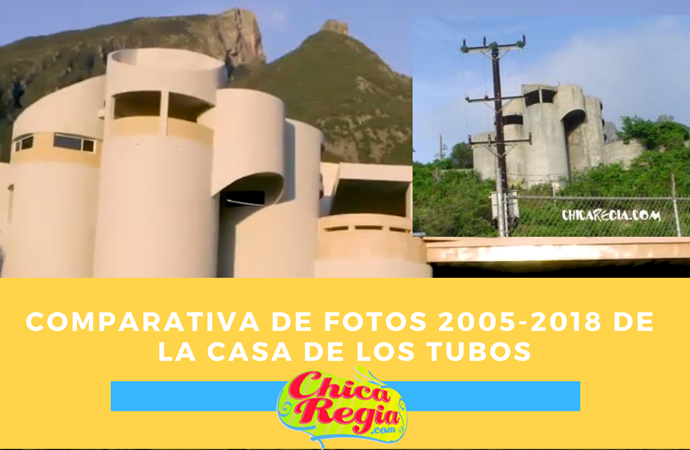 comparativa casa tubos fotos 2008 2018