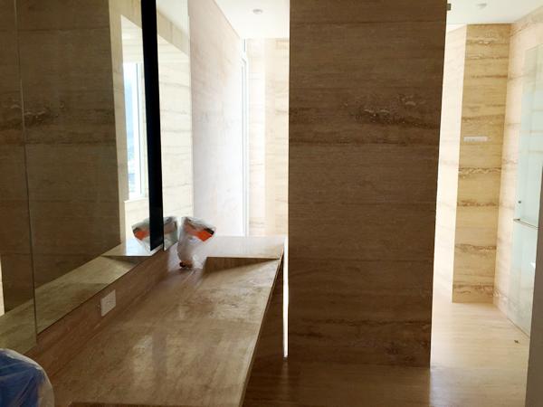 la casa de los tubos baño interiores 2018 remodelacion marmol Gamboa